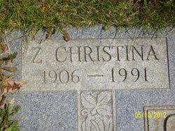 Zola Christina <i>Voorhis</i> Collins