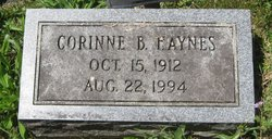 Corinne <i>Beylor</i> Haynes