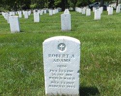 Pvt Robert A Adams