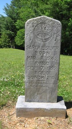 Sarah E. <i>Ledford</i> Silver