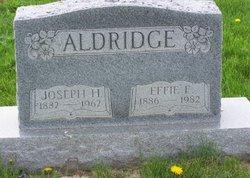 Effie Florence <i>Maines</i> Aldridge
