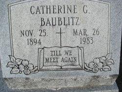 Catherine G Baublitz