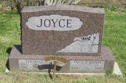 Jane F <i>Reidy</i> Joyce