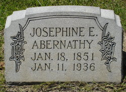 Josephine Elizabeth Josie <i>Clanton</i> Abernathy