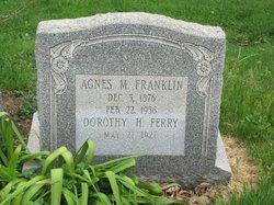 Agnes M Franklin