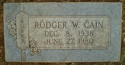 Rodger W Cain