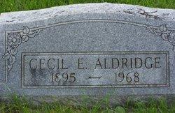 Cecil Emerson Aldridge