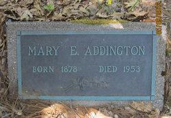 Mary Elizabeth <i>Townsend</i> Addington