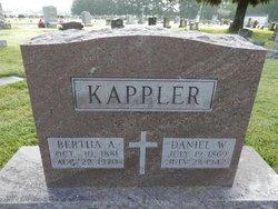 Bertha A <i>Schnaubelt</i> Kappler