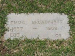 Emma <i>Gibbs</i> Broadhurst