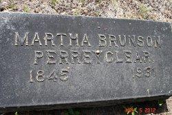 Martha <i>Brunson</i> Perreyclear