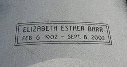 Elizabeth Esther Barr