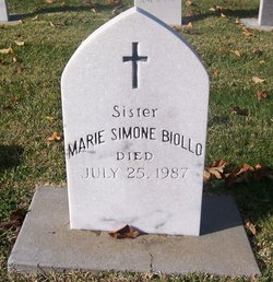 Sr Marie Simone Biollo