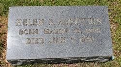 Helen Elaine <i>Webb</i> Albritton