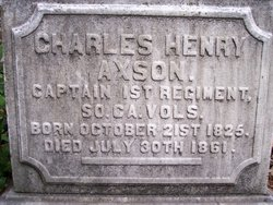 Capt Charles Henry Axson