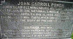 Sarah A. <i>Harris</i> Power