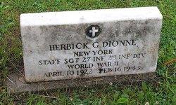 Herbick G. Dionne