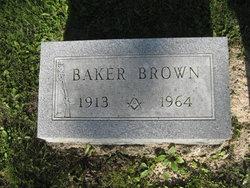 Baker Brown