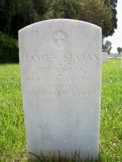 PFC James Sloan