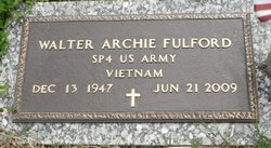 Walter Archie Fulford