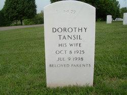 Dorothy <i>Inge</i> Tansil