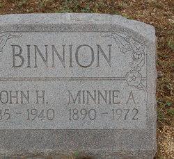 Minnie A <i>Poor</i> Binnion