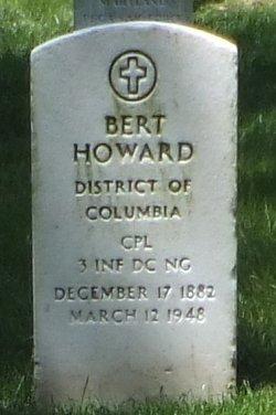 Corp Bert Howard