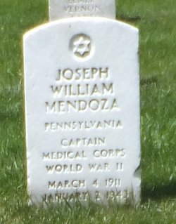 Joseph William Mendoza