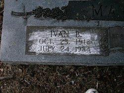 Ivan Bell <i>Harvel</i> Mayes