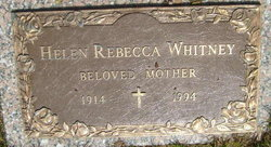 Helen Rebecca Whitney