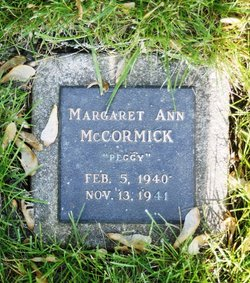 Margaret Ann Peggy McCormick