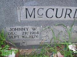 Johnny W McCurdy
