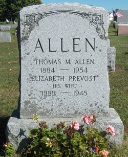 Elizabeth <i>Prevost</i> Allen