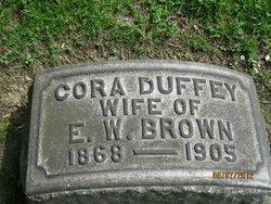 Cora <i>Duffey</i> Brown