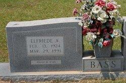 Elfriede A Bass