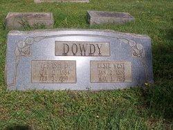 Elsie Lee <i>Vest</i> Dowdy