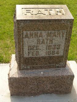 Anna Mary <i>Eberhardt</i> Rath
