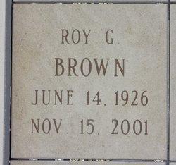 Roy G Brown