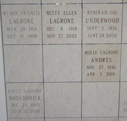 Molly <i>LaGrone</i> Andres