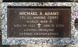 Corp Michael A. Adams