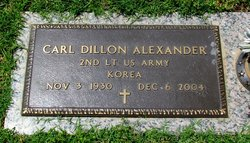 Carl Dillon Alexander