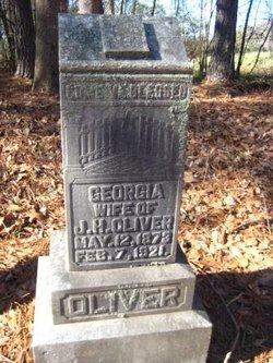 Georgia Ann <i>Vandiver</i> Oliver