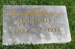 Edith <i>Brooks</i> Akers