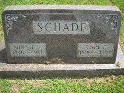 Minnie L <i>Schmoldt</i> Schade