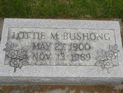 Lottie M Bushong
