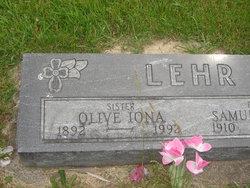 Olive Iona Lehr