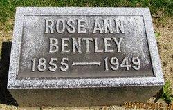 Rose Ann <i>Felix</i> Bentley
