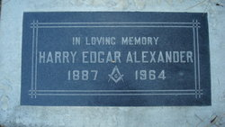 Harry Edgar Alexander