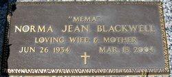 Norma Jean <i>Wall</i> Blackwell