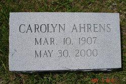 Carolyn Ahrens